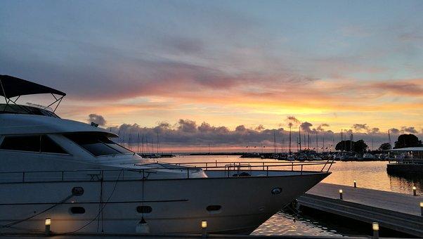 Borgholm, Port, Boat
