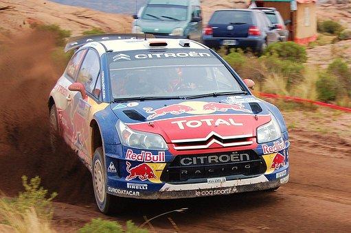 Rally, 2009, Wrc, Earth, Citroen