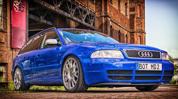 Pkw, Audi, Auto, Automotive, Vehicle, S4, Blue