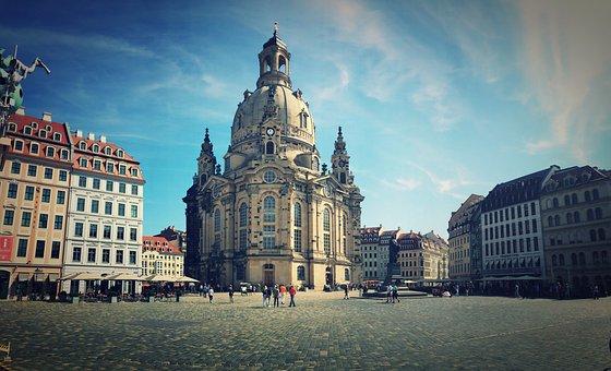 Dresden, Frauenkirche, Saxony