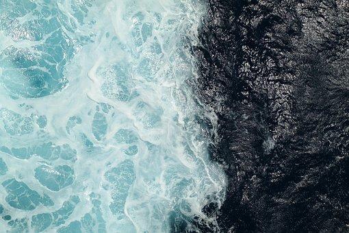 Wave, Foam Crowns, Farbenspiel, Wave Motion, Crossing