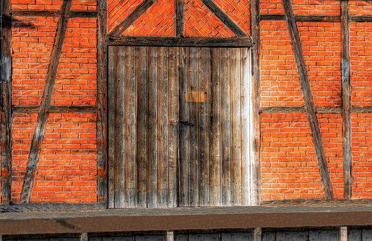Ramp, Loading Ramp, Old Railway Station, Old, Wood