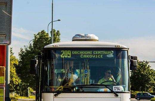 Letňany, Bus, Prague, 209, Business Center Cakovice