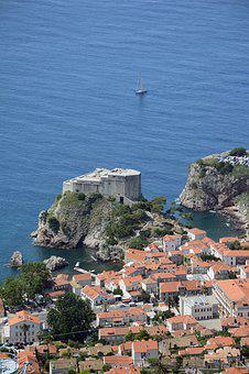 Dubrovnik, Tower, Old Town, Lovrijenac, Architecture