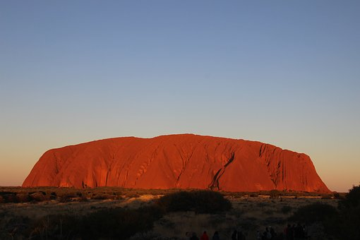 Uluru, Ayers, Rock, Australia, Outback, Tourism, Red