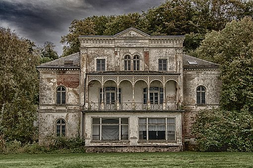 Lost Places, Heiligendam, Baltic Sea, Villa, Ruin
