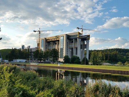 Boat Lift, Niederfinow, Brandenburg, New
