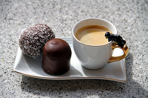 Coffee, Chocolate Marshmallow, Sweden Bombs, Coffee Cup