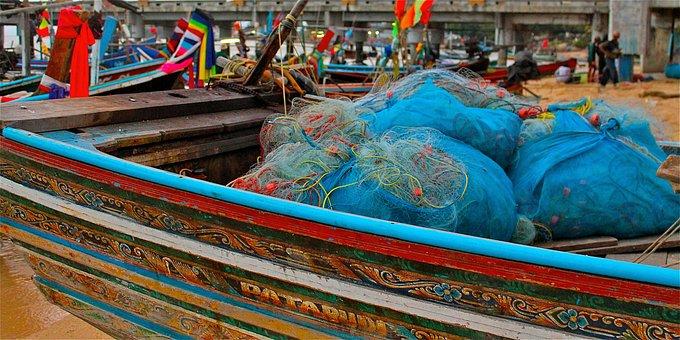 Fishing, Bosts, Colour, Ocean, Sea, Seascape, Coast