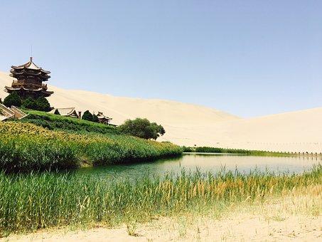 Dunhuang, Crescent Lake, Original
