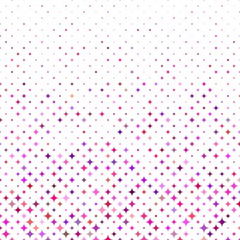 Star, Curved, Shape, Pattern, Background, Repeat, Color