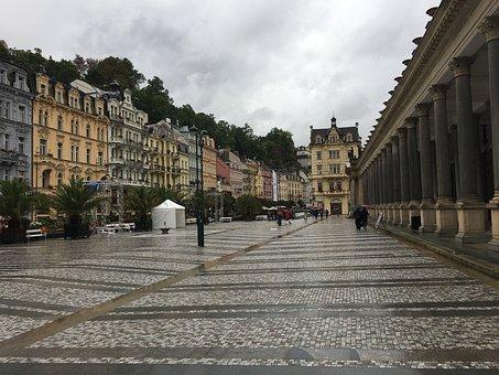 Karlovy Vary, Czech Republic, Nature, Life, City