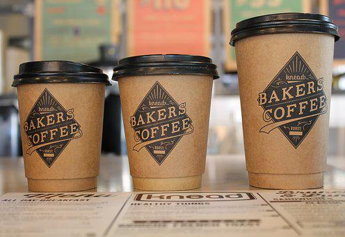 Coffee Cups, Take Away, Drink, Cafe, Beverage, Design