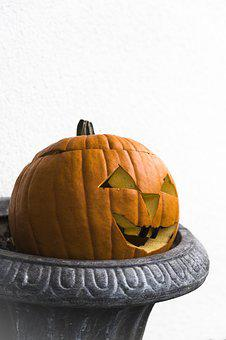 Pumpkin, Helloween, Autumn, Gourd, Autumn Decoration