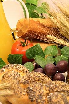 Breakfast, Wheat, Barley, Oats, Juice, Orange Juice