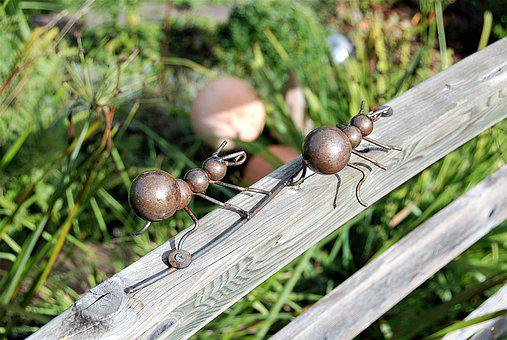Ants, Metal, Object, Iron, Figure, Decoration, Funny