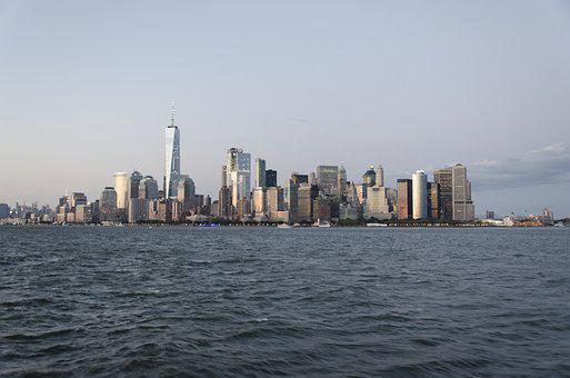 Usa, New York, Skyline, One World Trade Center