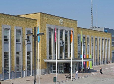 Railway Station, Bruges, Station Building, Input