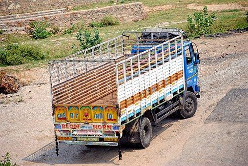 Truck, Trolley, Transport, Transportation, Cargo