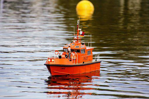 Rescue Ship, Lifeboat, Coast, Lake, Sea, Water