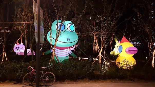Republic Of Korea, And The, Star Field, Night, Lighting