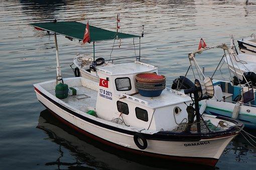 Boat, Ship, Beach, Marine, Peace, Coastline, Coastal