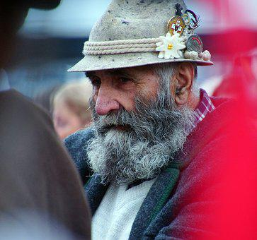 Pastor, Portrait, Man, Beard, Person, Face, Senior