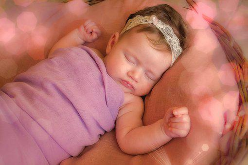 Newborn, Prop, Photography, Baby, Girl, Bokeh, Portrait