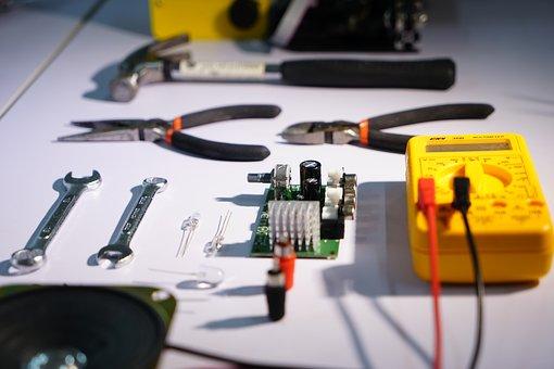 Tools, Parts, Circuit