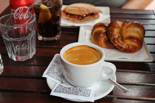 Coffe, Coffee, Lunch, Coca-cola, Bar, Fast Food