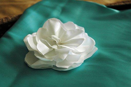 Craft, Flower, Fabric Flower, Fashion, Wearable Art