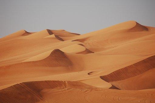 Dubai, Desert, Sand