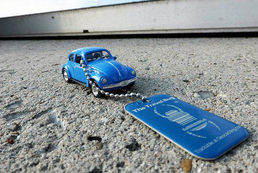 Geocaching, Hobby, Game, Trackable, Tb, Beetle