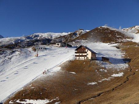 Ski Area, Hochsölden, Snowboard, Austria