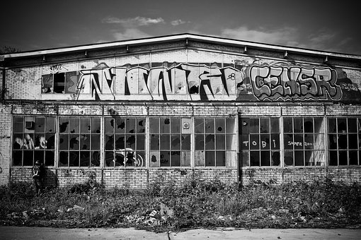 Lost Places, Pforphoto, Old Factory, Leave, Decay