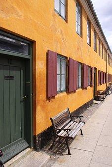 Nyboder, Dies, Property, House, Yellow, Denmark