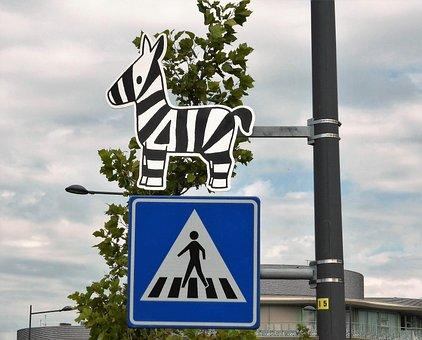 Traffic, Crossing, Pedestrian Crossing, Zebra