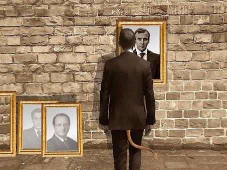 Dorian Gray, Mirror, Portrait, Policy, Head Of State