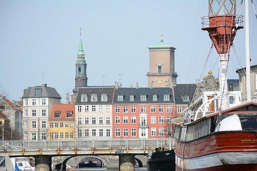 Copenhagen, City, Architecture, Scandinavia, Exterior