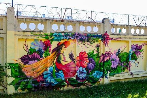 Graffiti, Figure, Art, Street Art, City, Style, Street