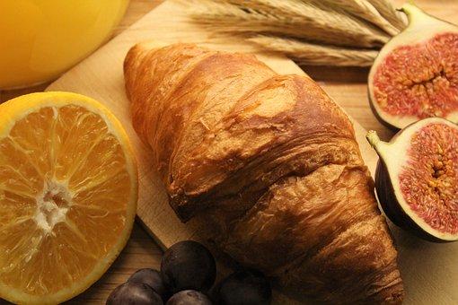 Croissant, Meal, Lunch, Nutrition, Vegan, Vegan Diet