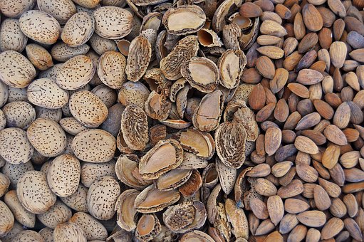 Almonds, Dried Fruits, Fruit, Dry, Dry Fruit