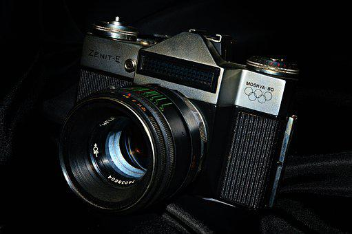 Camera, Photography, Cameras, Retro, Old, Lens, Antique