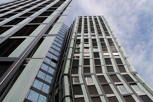 Architecture, Hamburg, Dancing Columns, Building