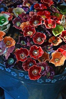 Ceramic, Color, Burgundy, Ceramist, Folk, Design