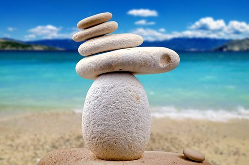 Stones, Zen, White, Spa, Alternative, Close Up, Pebble
