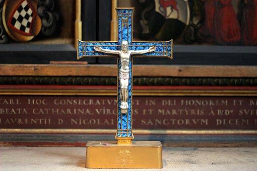 Jesus, Jesus On The Cross, Cross, Christian, Catholic