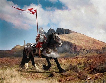 Fantasy, Knight, Battle, Warrior, Armor, Weapon, Symbol