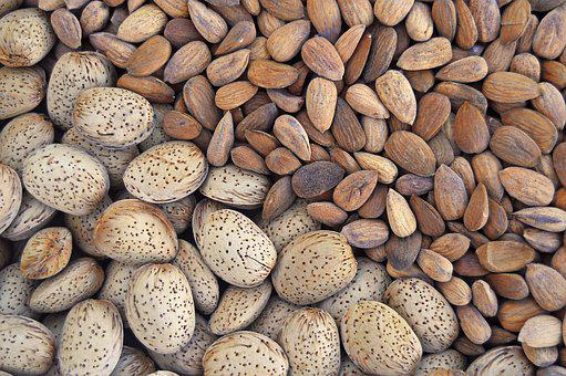 Almonds, Dried Fruits, Dry Almonds, Fruit, Dry Fruit