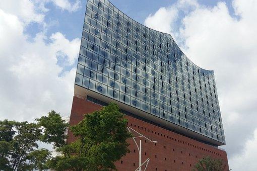 Hamburg, Port, Harbour City, Hanseatic, Elbe
